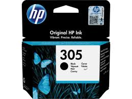 HP 305 black ink cartridge original HP