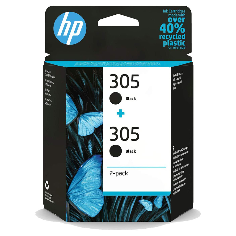 HP 305XL High Yield Original Ink Cartridge Black 3YM62AE