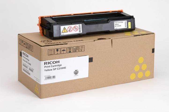 Ricoh SP C310HE yellow toner ORIGINAL