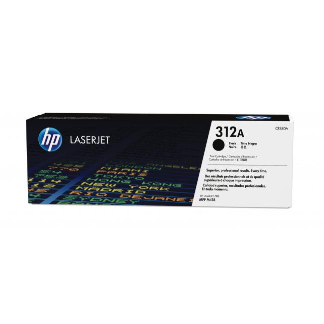 HP 312A black toner original CF380A