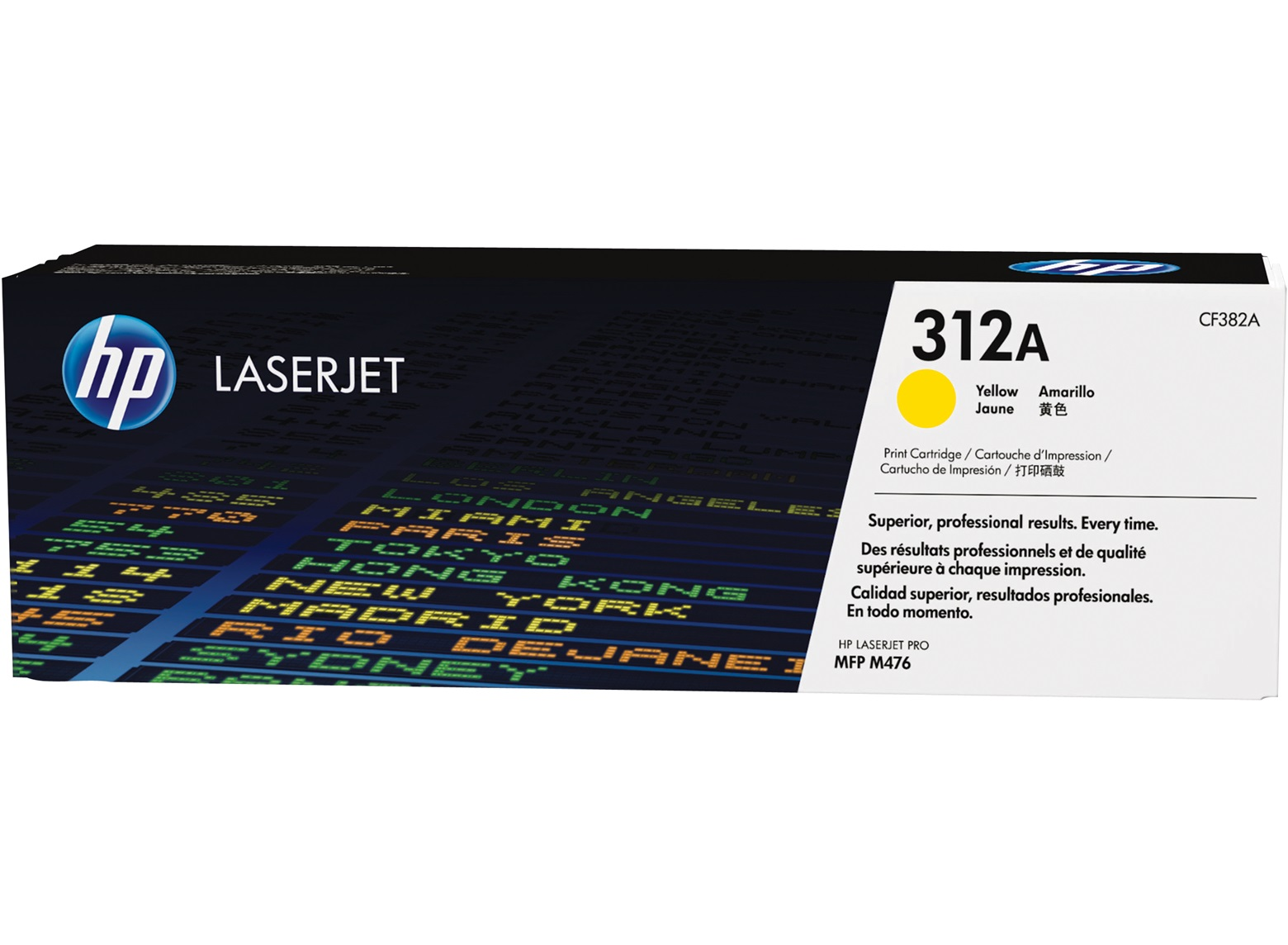 HP 312A yellow toner original CF382A