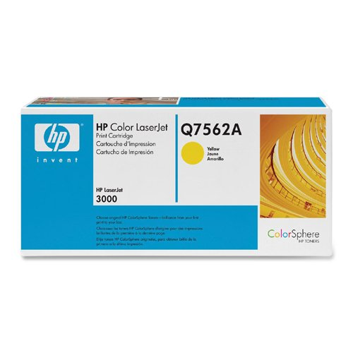 HP Q7562A yellow toner ORIGINAL - HP 314A Yellow Toner
