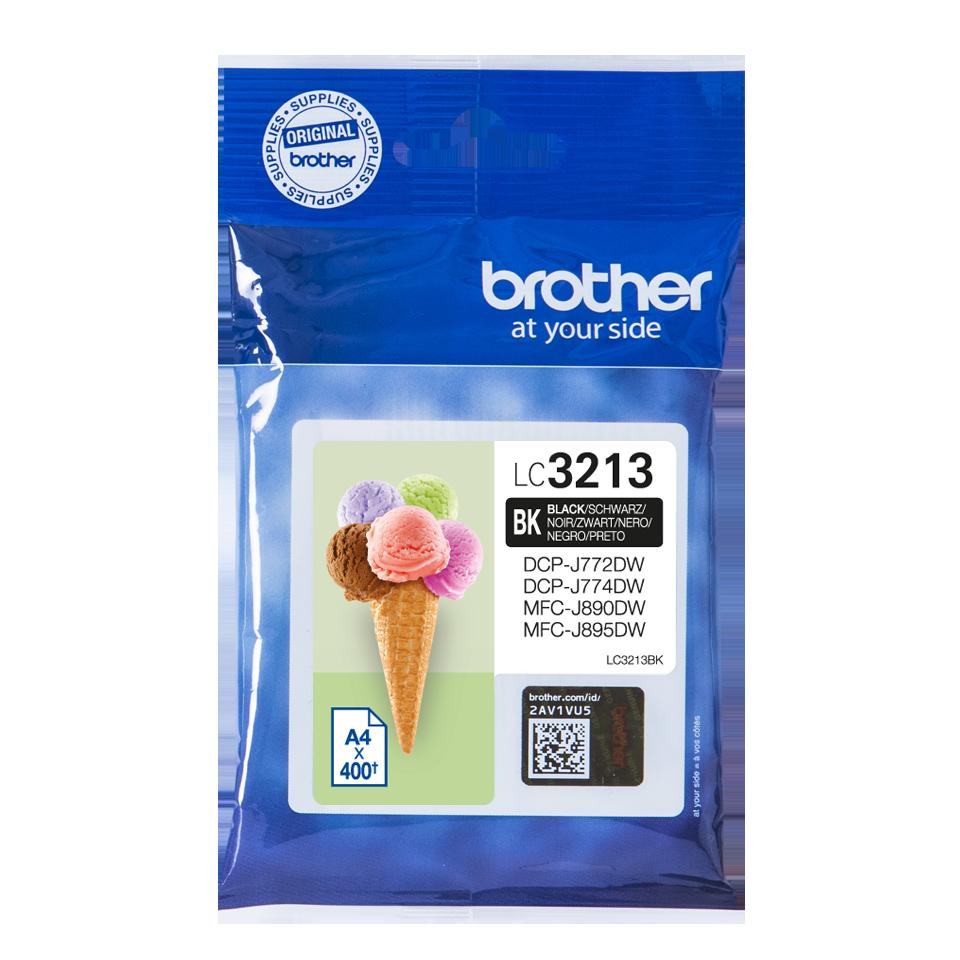 Brother LC-3213BK Ink Cartridge Black High Capacity Original