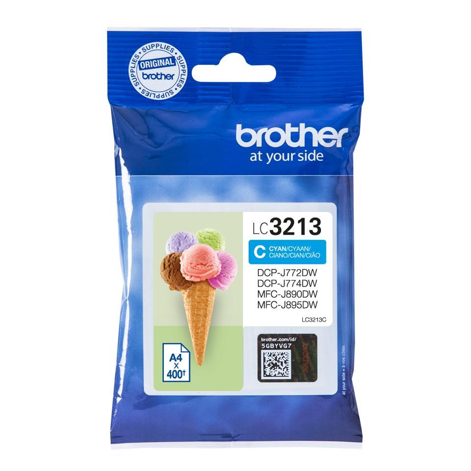 Brother LC-3213C Ink Cartridge Cyan High Capacity Original