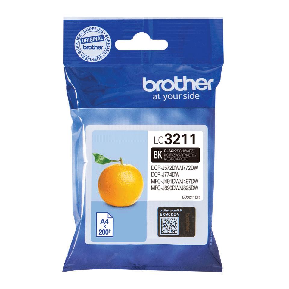 Brother LC-3211BK black ink cartridge original
