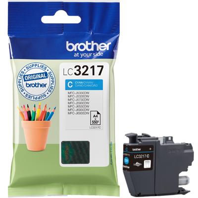 Brother LC-3217C cyan ink cartridge original