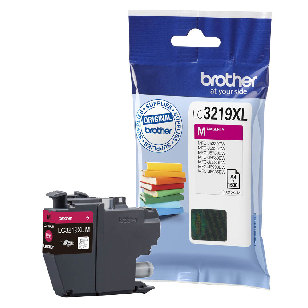 Brother LC-3219XL magenta high-cap ink cartridge original