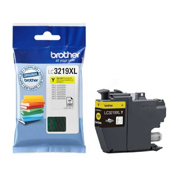 Brother LC-3219XL yellow high-cap ink cartridge original