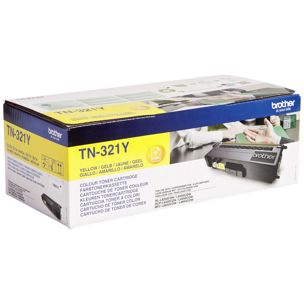 Brother TN321Y yellow toner original