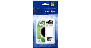 Brother LC-3233BK black ink cartridge original