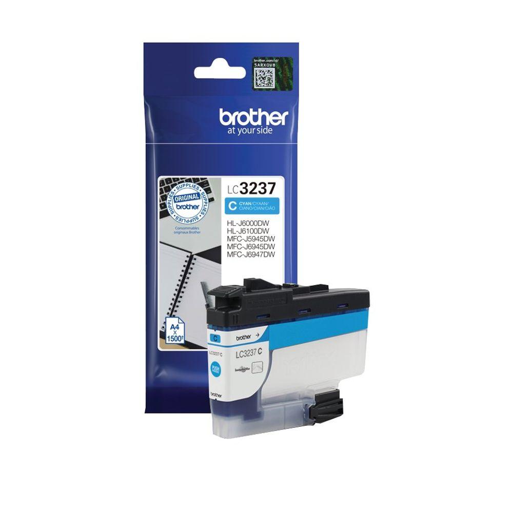 Brother LC-3237 Cyan Ink Cartridge LC3237C