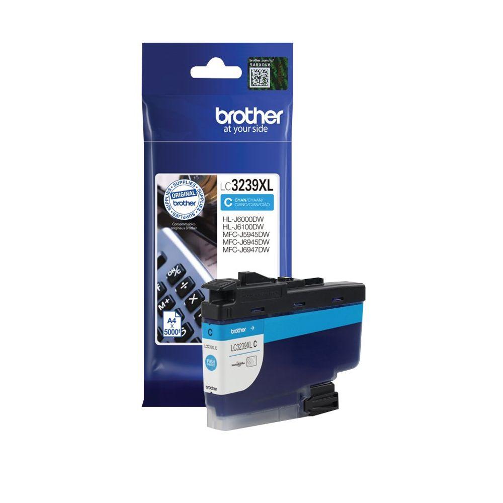 Brother LC3239XLC High Yield Cyan Inkjet Cartridge LC3239XLC