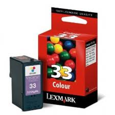 Lexmark 33 Colour Ink Cartridge Original