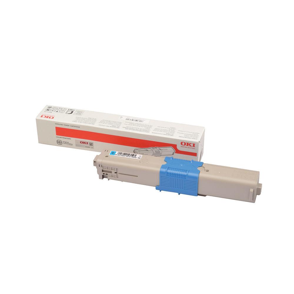 Oki C332 Cyan Toner MC363 46508715