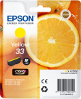 Epson 33 T3344 yellow ink cartridge original Epson