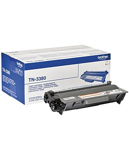 Brother TN-3380 high-cap black toner ORIGINAL