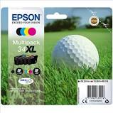 Epson 34XL Colour Inks 4 pack DURABrite Ultra Ink