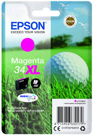 Epson 34XL T3473 magenta high-cap  ink cartridge original