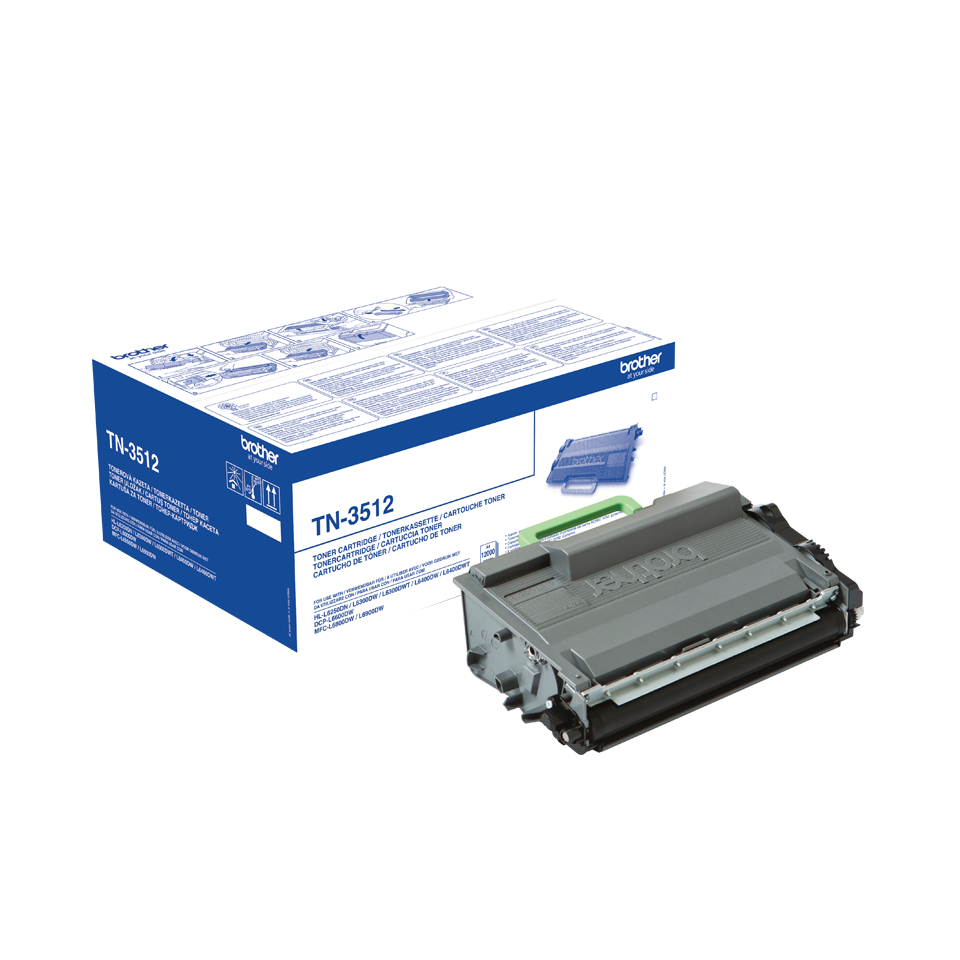 Brother TN-3512 black extra high-cap toner original Brother