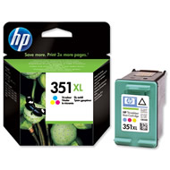 HP 351 XL Colour Ink cartridge Original - HP 351Xl Original