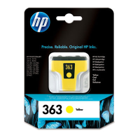 Hp 363 Yellow Ink Cartridge Original