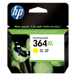 HP 364 Xl Yellow Ink Cartridge Original - HP 364XL Yellow Ink