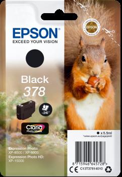 Epson 378 black ink cartridge original