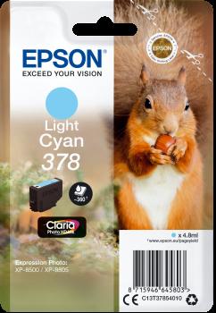 Epson 378 light cyan ink cartridge original