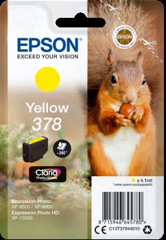 Epson 378 yellow ink cartridge original
