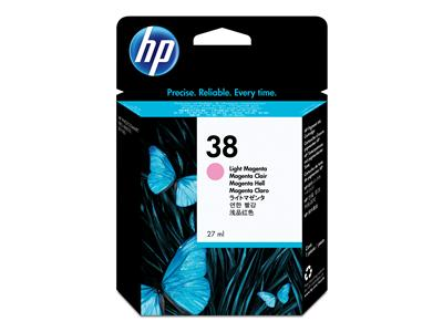 Hp 38 Light Magenta Ink Cartridge Original - Hp C9419A LIght