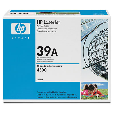 HP Q1339A black toner ORIGINAL - Hp 39A Toner Original