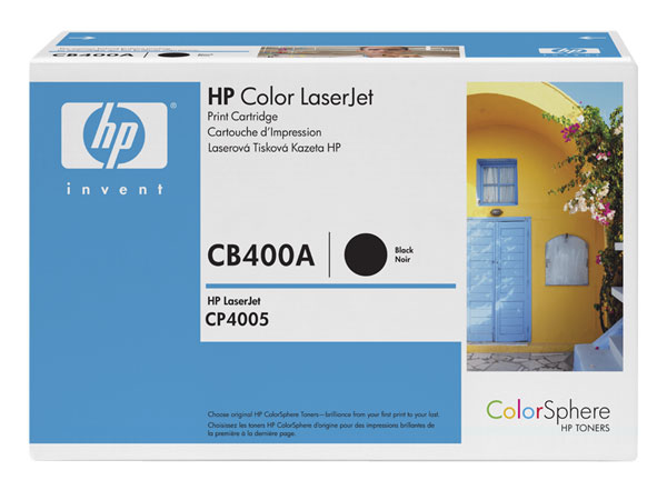 HP CB400A black toner ORIGINAL - Hp 642A original