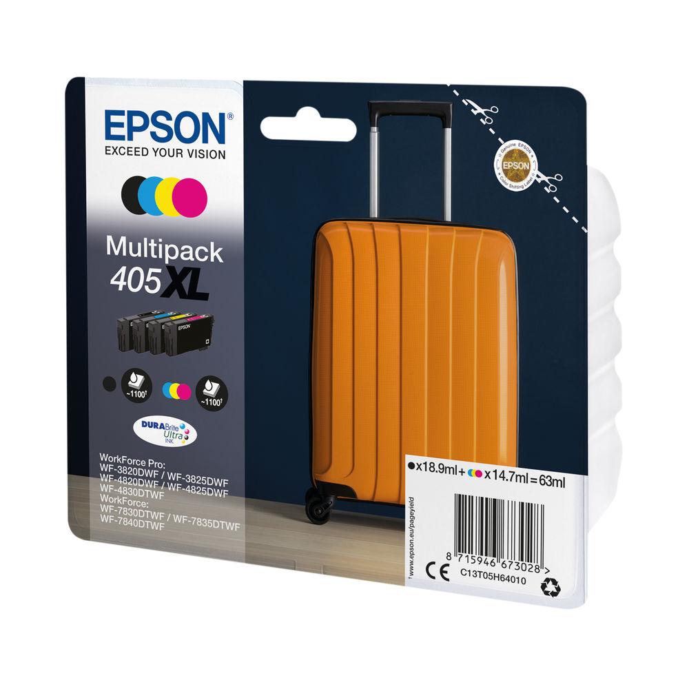 Epson 405XL Ink Cartridge 4 Colours Original