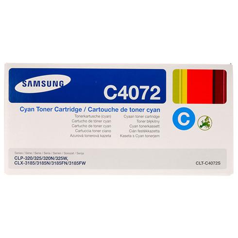 Samsung CLP-320 Cyan - Samsung CLT-C4072S Original