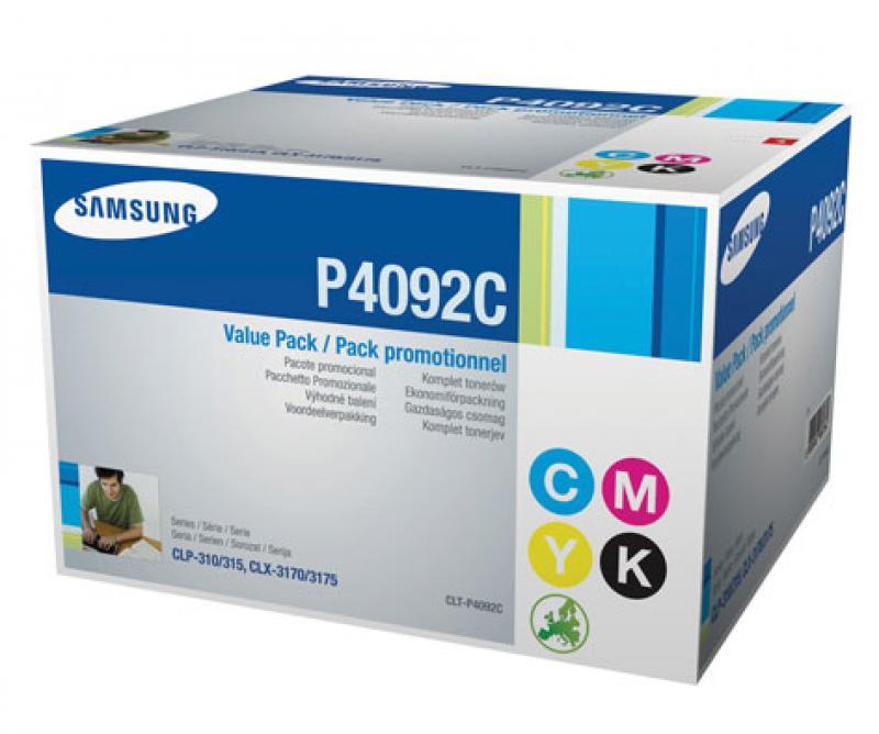 Samsung CLT-P4092c 4 Pack Toners Original