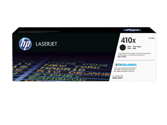 HP 410X black high-cap toner Original HP CF410 Toner