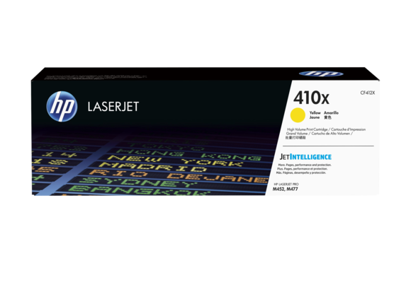 HP 410X yellow high-cap toner Original HP CF412X