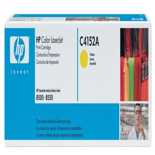 HP C4152A Yellow Toner Original - HP 4152a Toner Original