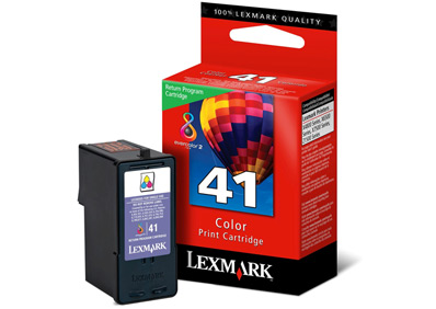 Lexmark 41 Ink Cartridge  Tri Colour Original