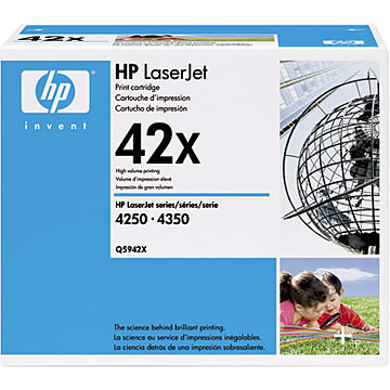 Hp 42 X Black Toner Original - Hp Q5942x Black Toner original