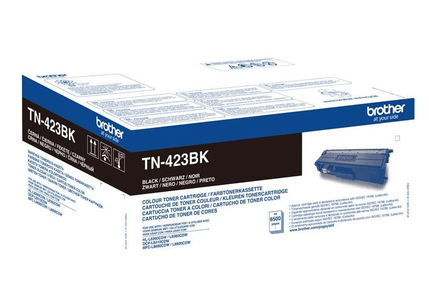 Brother TN-423BK black high capacity toner original