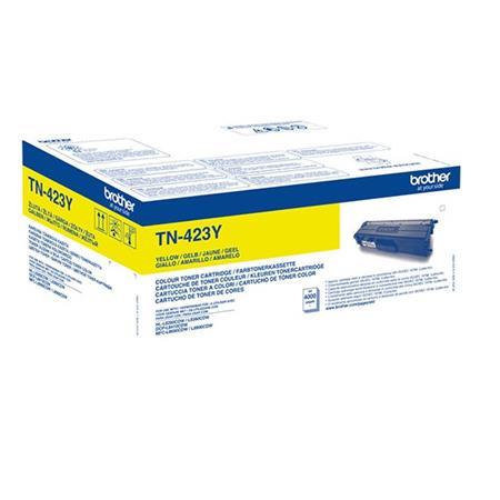 Brother TN-423Y yellow high capacity toner original