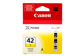 Canon CLI-42Y yellow ink cartridge original