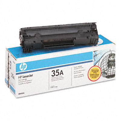 HP CB435A black toner ORIGINAL