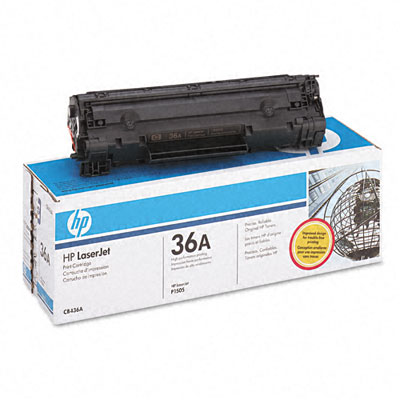 HP CB436A  black toner ORIGINAL