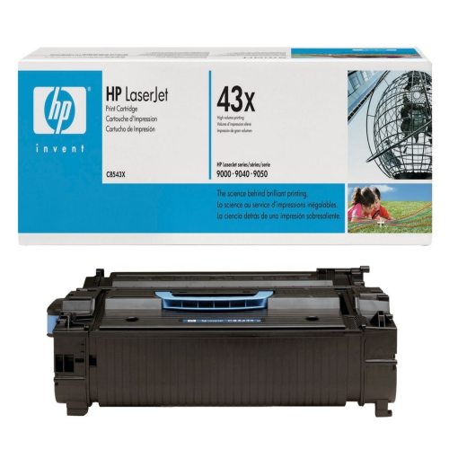 HP C8543X high capacity black toner ORIGINAL - Hp 43x