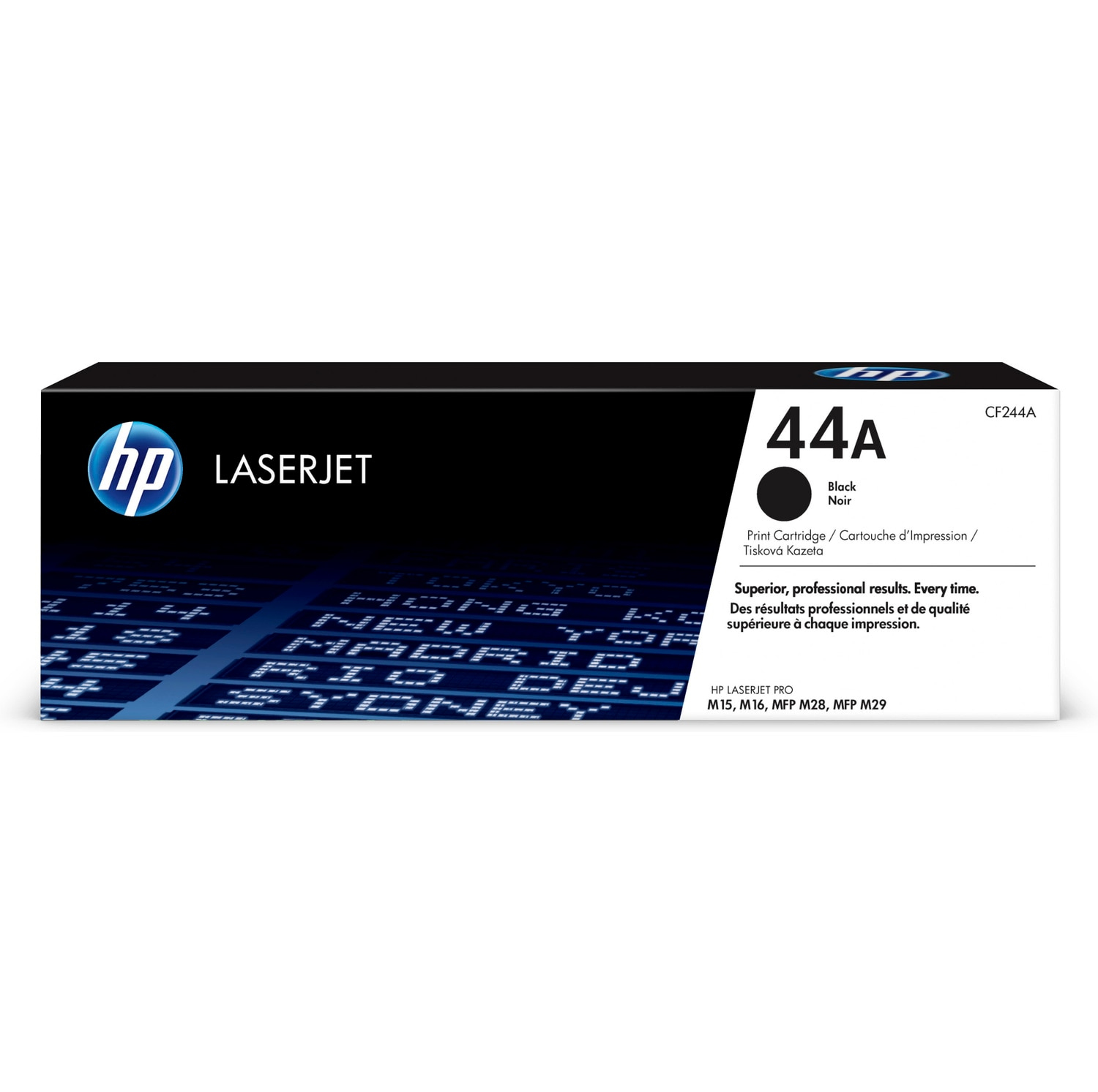 HP 44A CF244A black toner original