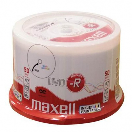 Dvd Printable Minus R Maxell 50 Pack Spindle