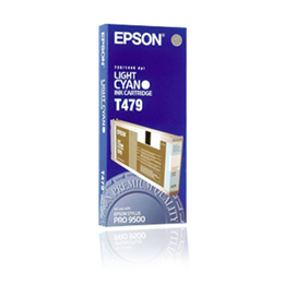 Epson T479 C13T479011 light cyan ink cartridge original