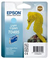 Epson T0485 light cyan ink cartridge original